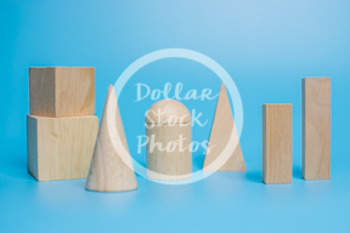 Dollar Stock Photo 440 Wooden Solid Shapes