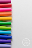 Dollar Stock Photo 89 Rainbow Pens