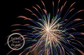 Dollar Stock Photo Freebie 11 Fireworks