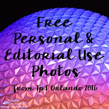 Dollar Stock Photos from TpT Orlando Personal and Editoria
