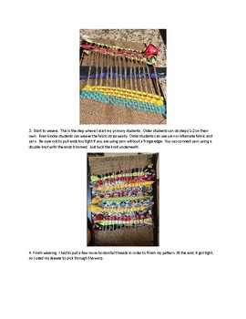 Dollar Store Frame and Burlap Weaving Project