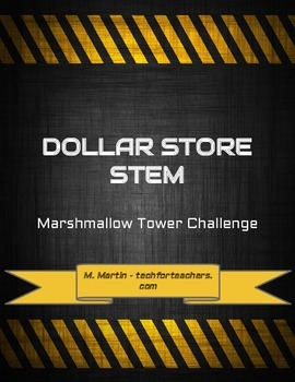 Dollar Store STEM - Marshmallow Tower