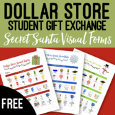 FREEBIE Dollar Store Visual Gift Exchange Secret Santa Forms