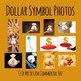 Dollar Symbols Photos / Photograph Clip Art Set for Commercial Use
