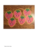 Dollar Tree Cut Out Strawberry Ten Frames