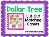 Dollar Tree Cut-Outs Matching Games