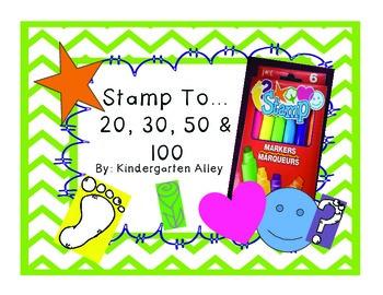 Dollar Tree Stamp to 20, 30, 50 & 100