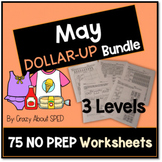 Dollar-Up Bundle May- Life Skills Money Math for Special E