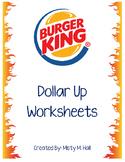 Dollar Up @ Burger King (Menu Math)