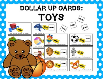 Dollar Up Cards: Toys