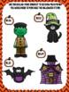 Dollar-Up File Folder Game- Halloween Edition