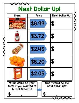 Dollar Up Food Shopping