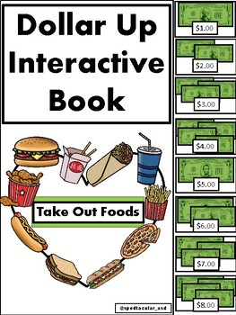 Dollar Up Interactive Book (Take out foods)
