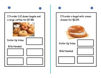 Dollar Up Math-Dunkin Donuts  Menu