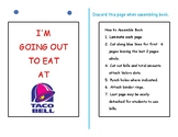 Dollar Up Math-Taco Bell  Menu