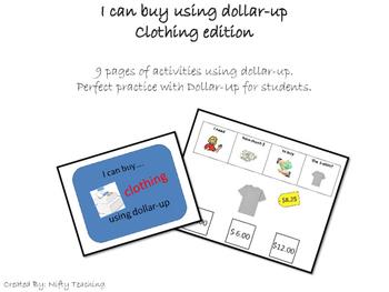 Dollar-Up Method Buying Clothing