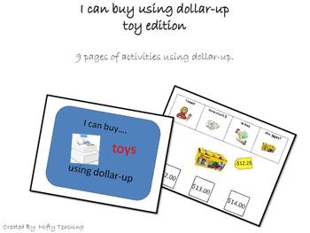 Dollar-Up Method Buying Toys