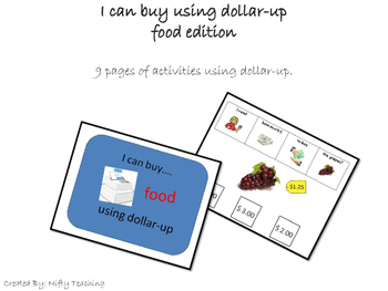 Dollar-Up Method I Can Buy Food