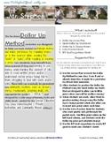 Dollar Up Method Worksheets & Planning