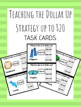 Dollar Up Strategy - Up to $20 - Special Education Functional Mathematics