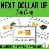 Next Dollar Up Task Clip Cards Money Math Life Skills Real Images
