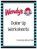 Dollar Up @ Wendy's (Menu Math)