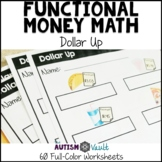 Dollar Up Worksheets