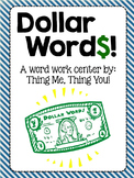 Dollar Words
