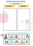 Dollar deal Alphabet Learning cut and paste Uppercase and