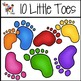TLC Shop Clip Art: 10 Little Fingers and Toes