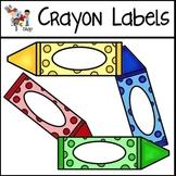 FREE! Crayon Labels