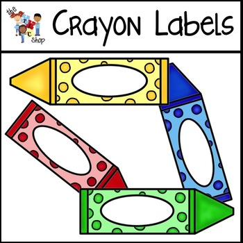 FREE! Crayon Labels