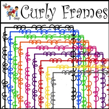 $$DollarDeals$$ Curly Borders