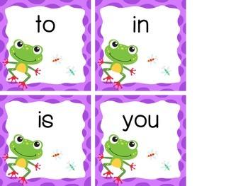 $$DollarDeals$$ Froggy 100! {Sight Word Word Wall}