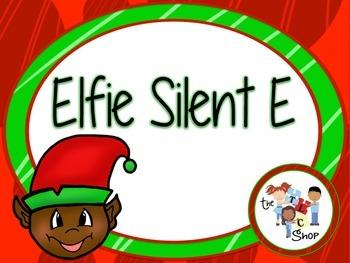 Elfie Silent E Card Game