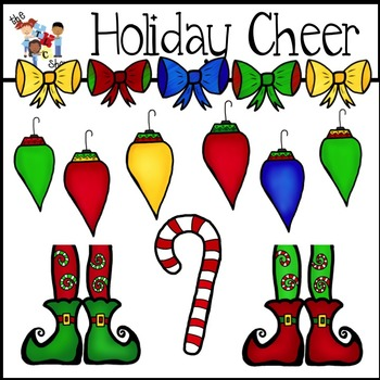 $$DollarDeals$$ Holiday Cheer Clipart Set
