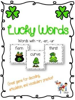 $$DollarDeals$$ Lucky Words - IR,ER,UR