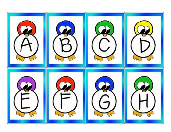 $$DollarDeals$$ Penguin Belly Go Fish! Letter Matching Game
