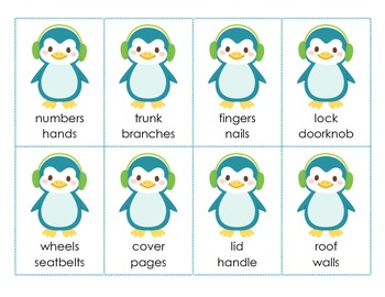 {DISCOUNTED ITEM} Penguin Parts - Identifying parts of a whole