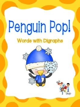 $$DollarDeals$$ Penguin Pop!  - Words with Digraphs