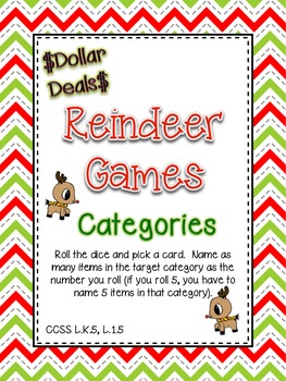 $$DollarDeals$$ Reindeer Games - Categories