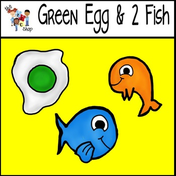 $$DollarDeals$$ Seuss-Inspired Clips: Green Egg and 2 Fish