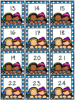 $$DollarDeals$$ Snow Day Number Recognition 0-30