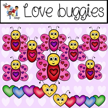 $$DollarDeals$$ TLC Clip Art - Love Buggies