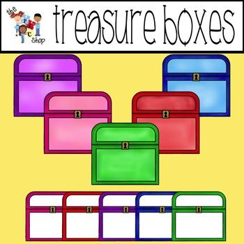 $$DollarDeals$$ TLC Clip Art - Treasure Boxes