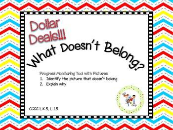 $$DollarDeals$$ What Doesn't Belong?