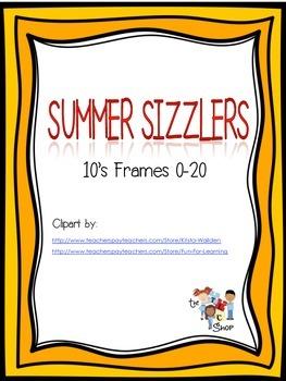 $$DollarDeals$$Summer Sizzlers #1: 10's Frames