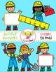 Dollipop Builders {Kids Clipart}