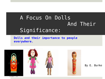 Dolls And Their Significance