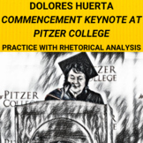 Dolores Huerta Commencement Keynote at Pitzer College: Rhe
